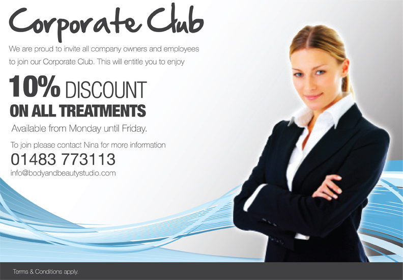Corporate Offer Body Amp Beauty Studio